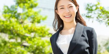 営業職の女性